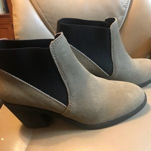 Urban outfitters booties. Size 10.  Taupe color